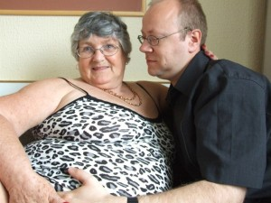 Randy granny gets laid