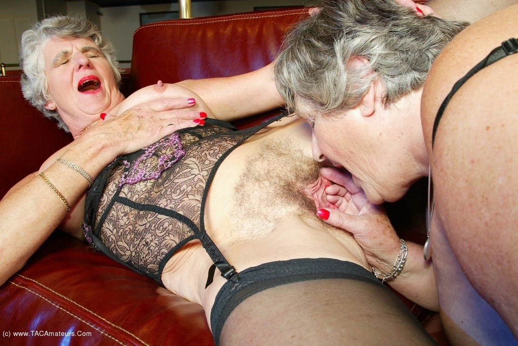 Grandma libby and angel eyes share a young cock - 56 part 4