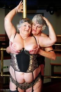 Steph & Libby granny lesbian sluts