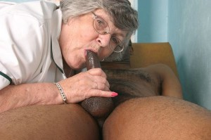 Granny nurse and her horny patient